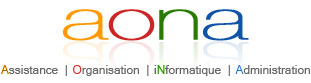 Aona - Assistance Organisation informatique administration